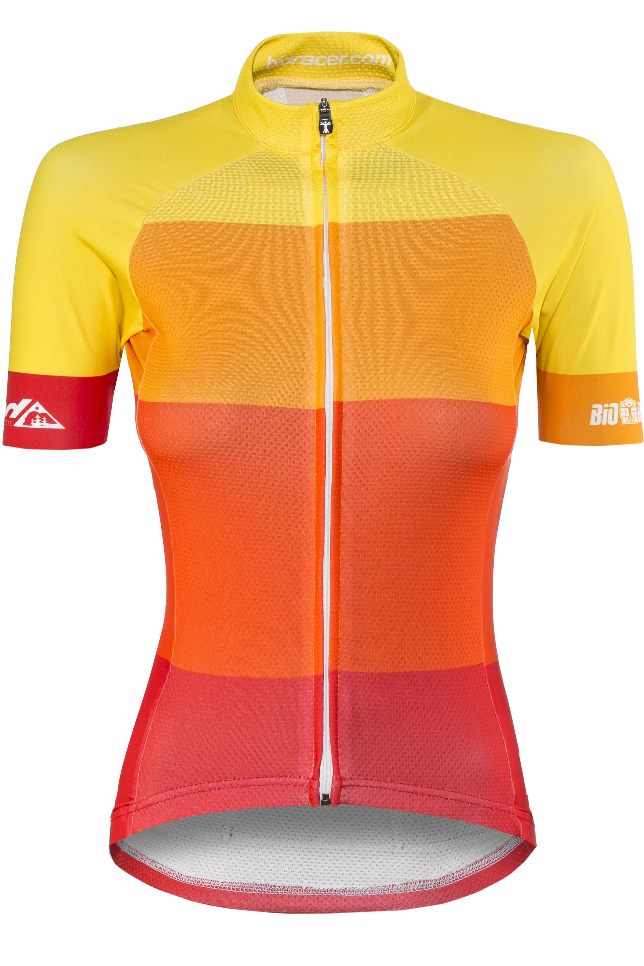 60ce437e1bc89 Red Cycling Products Colorblock Race - Maillot manga corta Mujer -  amarillo rojo